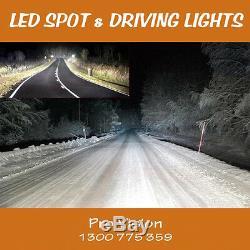 LED Spot Lights 2x 225w Heavy Duty CREE 12/24v AAA+ AWESOME POWER