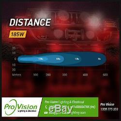 LED Spot Lights 6x 185w Heavy Duty CREE 12/24v Brightest on the Market Today