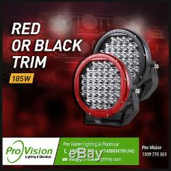 LED Work Lights 6x 185w Heavy Duty CREE 12/24v Brightest on the Market Today