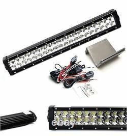 Lower Grille Mount 20-Inch LED Light Bar Kit For 2020-up Dodge RAM 2500 3500