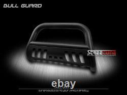 Matte Black Heavyduty Bull Bar Brush Bumper Grille Guard For 98-11 Ford Ranger