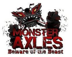 Monster Axles Heavy Duty Front Axle for Polaris Ranger 500/Crew 500 4x4 11-13