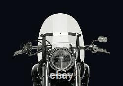 NATIONAL CYCLE Motorradscheibe Ranger Heavy Duty klar ABE passt für Honda VT 600