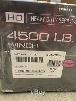 NEW Polaris Ranger Heavy Duty Series 4500 lb Winch 2881667