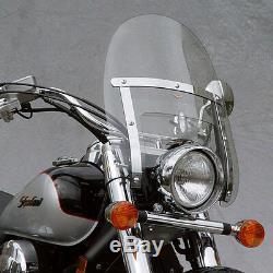 Nc Ranger Heavy Duty Windshield N2290 Harley Xl883 / Xl1200 Sportster 1988-2010