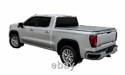 New Agricover Adarac Aluminum Utility Rails 19-On Ford Ranger 5' Box Matte Black