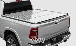 New Agricover Adarac Aluminum Utility Rails 19-On Ford Ranger 6' Box Matte Black