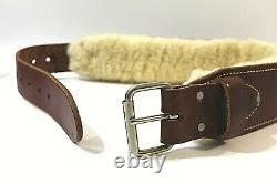 Occidental Tool Belt Small Leather Heavy Duty 3 Ranger Sheepskin Lined 5035 NEW