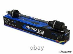 Polaris Ranger 1000 Heavy Duty Rhino 2.0 Axles by SuperATV, P/N-AX01-015R0