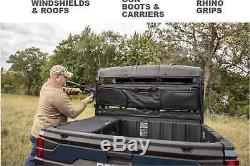 Polaris Ranger RZR Universal UTV Heavy Duty Easy Mount Double Gun Carrier Black