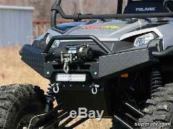 Polaris Ranger XP Textured Diamond Plate Heavy Duty Front Brush Guard