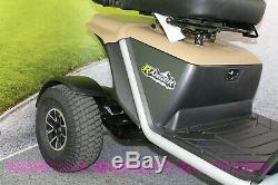 Pride Ranger 8 Mph Class 3 Large All Terrain Road Scooter