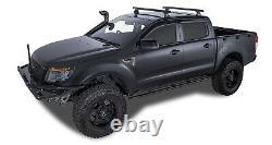 RLT600 2 Bar Rhino Roof Rack for FORD Ranger PX/PXII Dual Cab 10/11on JA6235