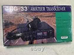 Ranger RG-33 10 & 11 METER TRANSCEIVER AM & FM with HEAVY DUTY MODULATOR STAGE