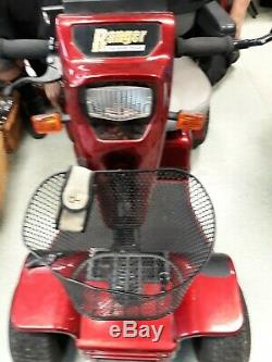 Ranger pride scooter PMV600 great condition works fine. Seat has a few scratches