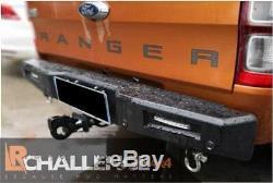 Rear heavy Duty Bumper HD to fit Ford Ranger 2016-2019 inc winch mount
