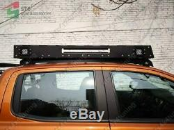 Roof Carrier Heavy Duty With Led Lights Ford Ranger T6 T7 T8 2012-2020