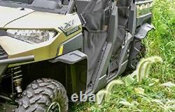 SAUTVS Extended Fender Flares for Ranger XP 1000 Heavy Duty Front & Rear Mud