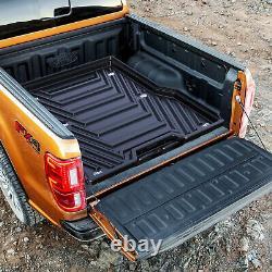 Stx Heavy Duty Rear Plastic Load Bed Sliding Tray For Ford Ranger Dcab 2012+