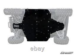 SuperATV Heavy Duty 1/2 Full Skid Plate for Polaris Ranger XP 1000 (2021+)