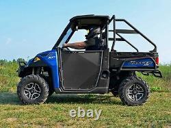 SuperATV Heavy Duty Aluminum Doors Pair for Polaris Ranger 1000 Diesel (2015+)