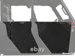 SuperATV Heavy Duty Aluminum Doors for Polaris Ranger 1000 Crew (See Fitment)