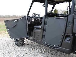SuperATV Heavy Duty Aluminum Doors for Polaris Ranger 1000 Diesel Crew (2015+)