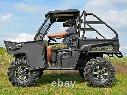 SuperATV Heavy Duty Aluminum Doors for Polaris Ranger Full Size 570 / 800 READ