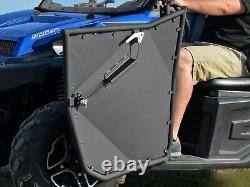 SuperATV Heavy Duty Aluminum Doors for Polaris Ranger Full Size XP 570 (2015-16)