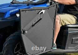 SuperATV Heavy Duty Aluminum Doors for Polaris Ranger XP 900 / XP 570