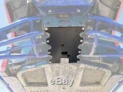 SuperATV Heavy Duty Frame Support Stiffener for Polaris Ranger XP 1000 / Crew