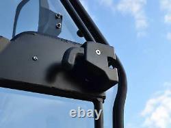 SuperATV Heavy Duty Full Cab Enclosure Doors for Polaris Ranger XP 1000 (2017)