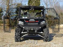 SuperATV Heavy Duty Full Cab Enclosure Doors for Polaris Ranger XP 900 (2013+)