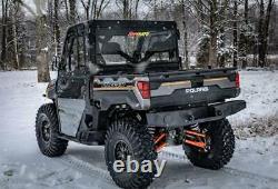 SuperATV Heavy Duty Rear Bumper for Polaris Ranger XP 900 / 570