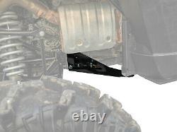 SuperATV Heavy-Duty Rear Frame Support Stiffener for Polaris Ranger XP 1000/Crew