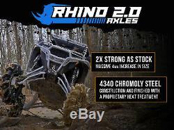 SuperATV Heavy Duty Rhino 2.0 Axle for Polaris Ranger XP 1000 (2019+) REAR