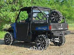 SuperATV Heavy Duty Spare Tire Carrier for Polaris Ranger Fullsize 570 / 900