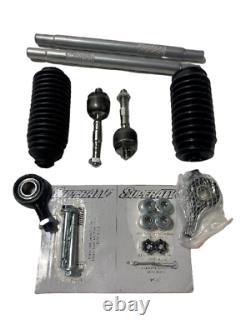 SuperATV Heavy Duty Tie Rod Kit for Polaris Ranger XP 1000 / 900 READ