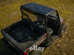 SuperATV Heavy Duty Tinted Roof for Polaris Ranger XP 1000 (2017+)