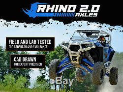SuperATV Rhino 2.0 FRONT Axle Polaris Ranger Fullsize 900 / 1000 Highlifter Edt