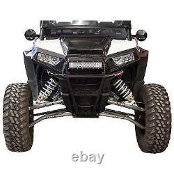 Tusk Black Impact Front Bumper For 15-18 Polaris Ranger RZR 4 1000 High Lifter