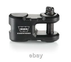 Warn 100770 Black Sidewinder Epic Winch Hook & Shackle System