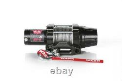 Warn 101020 VRX 25-S Powersports Winch With 2,500 LB Capacity 50' Synthetic Rope