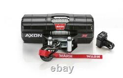 Warn 101135 Axon 35 Power Sport Winch With 3500 LB Capacity & 50 FT Steel Rope