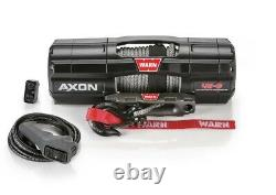 Warn 101140 AXON 45-S Powersport Winch With 4,500 LB Capacity 50 FT Synthetic Rope