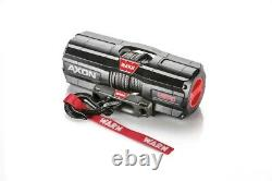 Warn 101240 Axon 45RC Power Sport Winch With 4,500 LB Capacity With 27' FT Rope