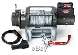 Warn 17801 M12000 Series 12 Volt Electric Winch With 125 Ft Wire Rope