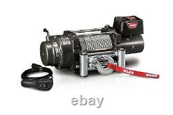 Warn 47801 M15000 Series 12 V Electric Winch With 15,000 LB Capacity 90 Ft Cable