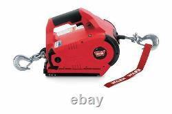 Warn 885005 PullzAll (TM) 24 Volt Electric 1,000 LB Capacity Winch With 15 FT Wire