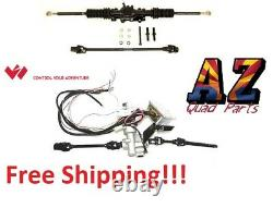 Wicked Rackzilla Heavy Duty Rack Power Steering Kit Polaris Ranger 800 Crew 12+